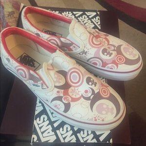 Vans skulls and moons slip on shoe
